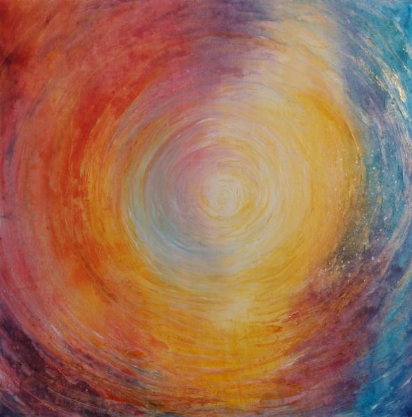 Transcendance, 50 x 50 cm