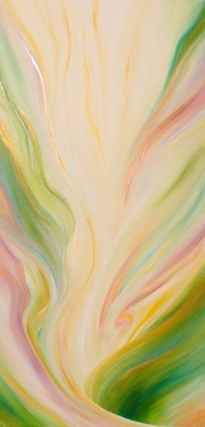 Élévation, 50 x 100 cm