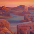Monument Valley, 116 x 96 cm<br />