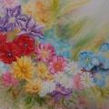 guirlande de fleurs<br />