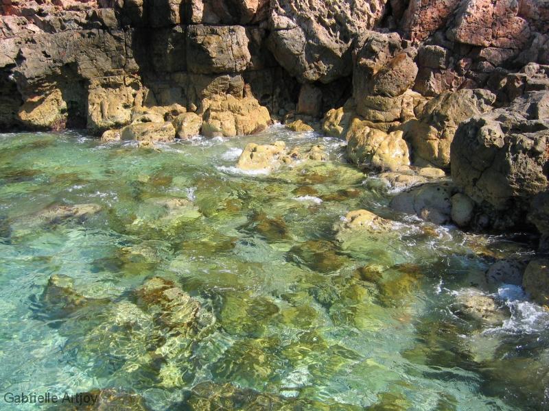 eau cristalline vers Bandol
