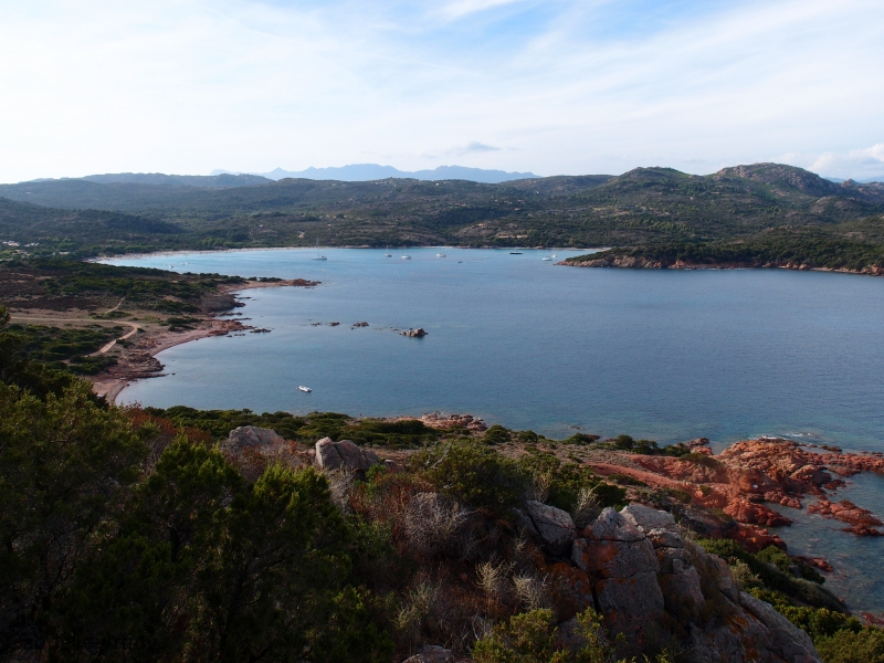 Vers la baie de Rondinara