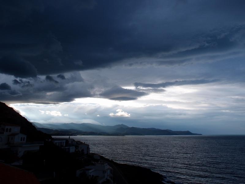 Ciel d'orage, Cap Creus, Espagne