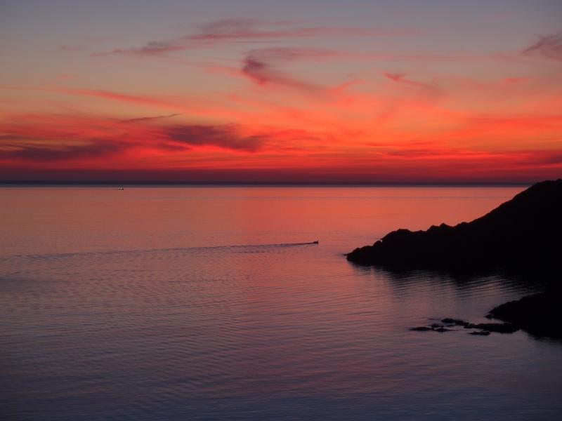 Lever de soleil, Cap Creus, Espagne