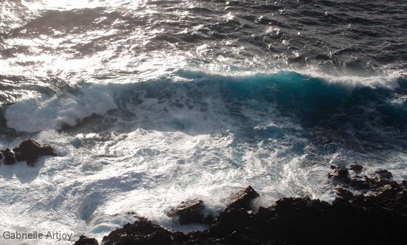 vague vers les Iles Sanguinaires