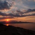 Coucher de soleil, Cap Creus, Espagne<br />