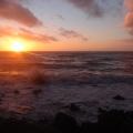 Coucher de Soleil sur la mer<br />