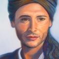 Djibrill<br />portrait d'un voyageur poète, 30 x 40 cm