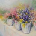Marché aux fleurs, 40 x 30 cm<br />