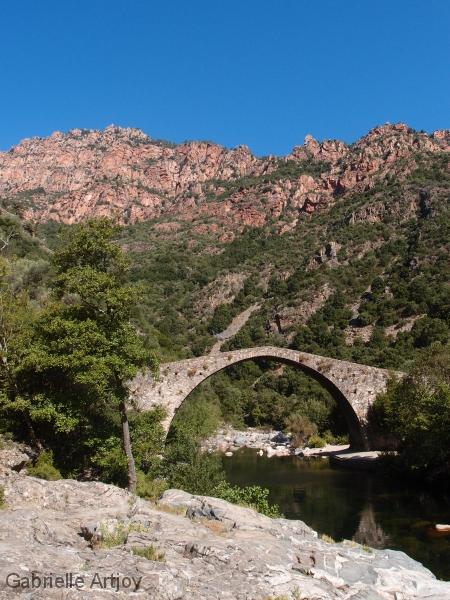 Pont gênois vers Porto, Corse