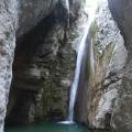 Cascade du Riou vers Pierrefeu<br />